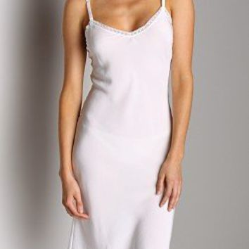 Only Hearts Crepe De Chine Slip Creme