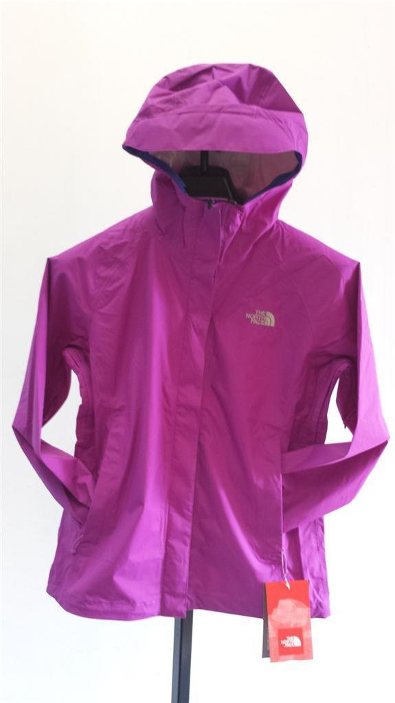 NEW WOMEN'S NORTH FACE VENTURE JACKET A57YE1C T MAGIC MAGENTA PERFECT WATERPROOF