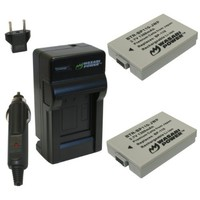Wasabi Power Battery and Charger Kit for Canon BP-110, CG-110, VIXIA HF R20, HF R21, HF R200
