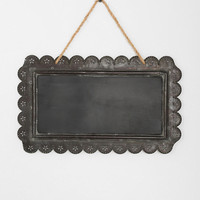 Urban Outfitters - Scallop-Edged Hanging Chalkboard