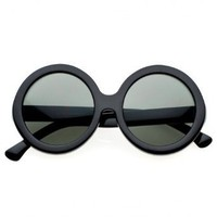 80&#x27;s - &#x27;le vash&#x27; round vintage sunglasses (more colors)