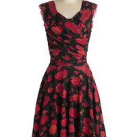 No Business Like Rose Business Dress | Mod Retro Vintage Dresses | ModCloth.com