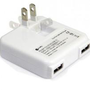 Dual Port USB Power Adapter for iPad, iPhone & iPod