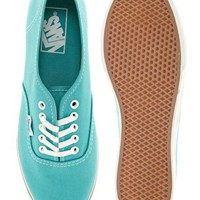 Vans Authentic Lo Pro Mint Trainers at asos.com