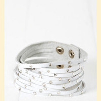 Lattice Crystals Cuff                    - Francesca's Collections