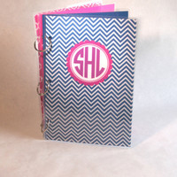 Planner 6 x 9 Binder Agenda 3 Ring  CHEVRON