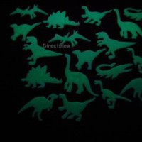 18 Piece Glow in the Dark Dinosaurs