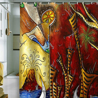 DENY Designs Home Accessories | Madart Inc. A Slice Of Paradise Shower Curtain
