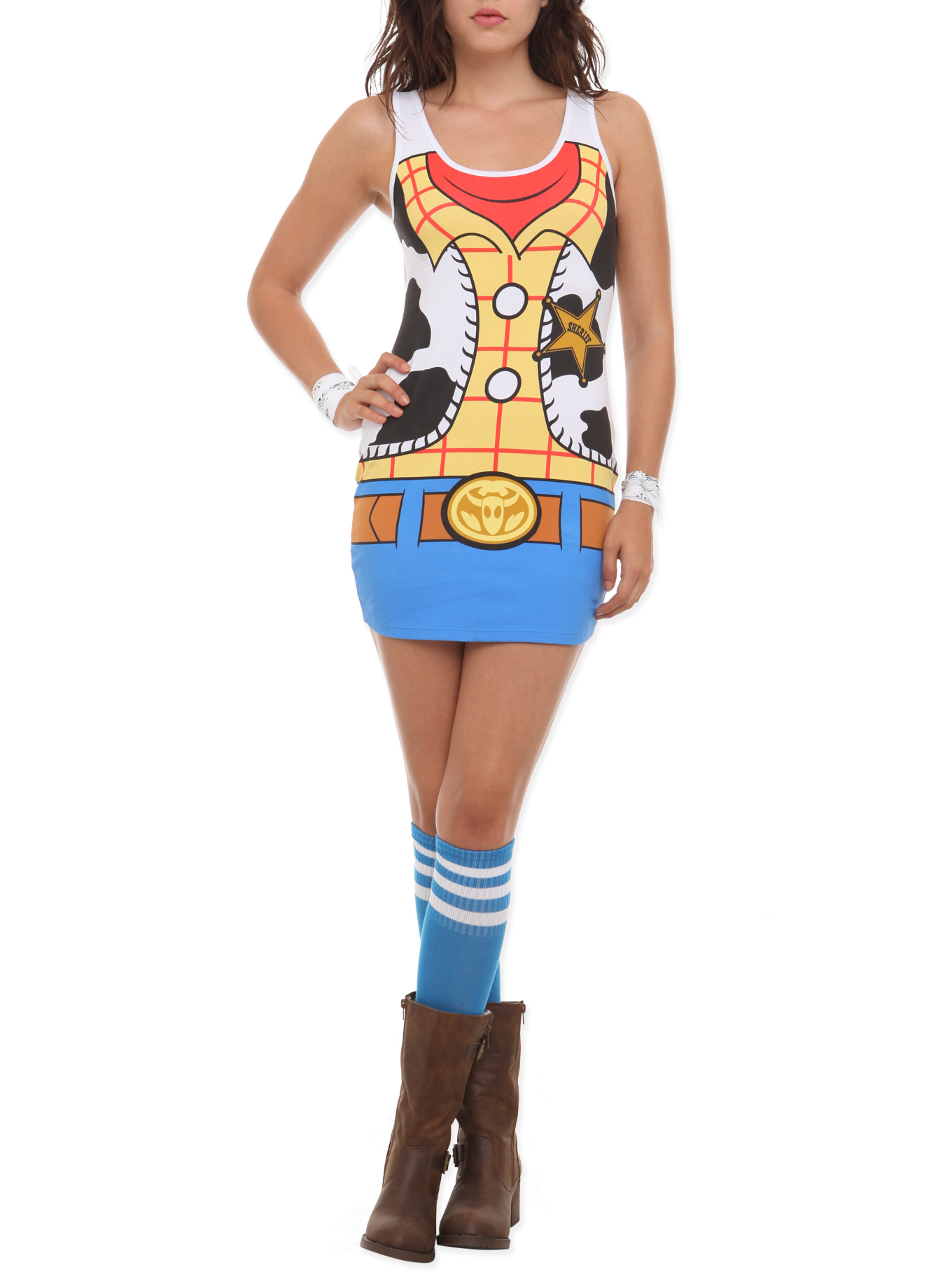 Toys From Hot Topic : Disney toy story woody costume dress from hot topic