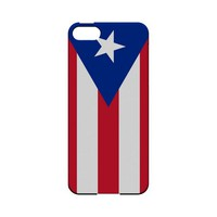 AccessoryGeeks|Puerto Rico Geeks Designer Line Flag Series Slim Hard Case for Apple iPhone 5|Free Shipping