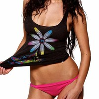 Women's Electric Daisy Tank : Rave Tank Tops From Into The AM Clothing