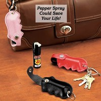 Pepper Defense Spray w/Holster @ Fresh Finds