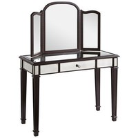 Hayworth Mirror & Vanity - Espresso