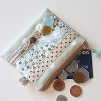 Vintage Button Coin Purse | Luulla