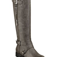 G by GUESS Women's Boots, Hertlez Tall Shaft Wide Calf Boots - Shoes - Macy's