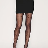 Gipsy Sheer Hearts Tights at asos.com