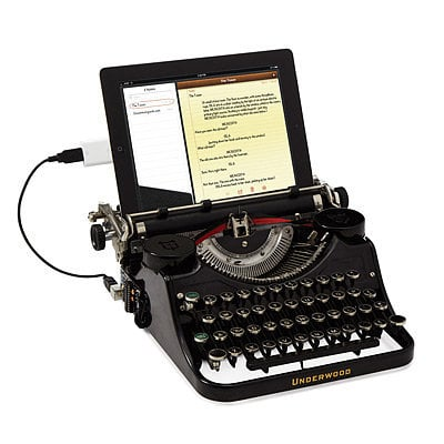 USB TYPEWRITER | electric type writer, typewriters | UncommonGoods