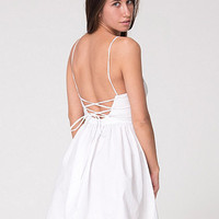 American Apparel - Tie Back Dress