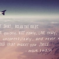 Monday Quote: Break The Rules - Free People Blog