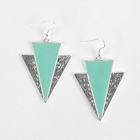 BKE Triangle Earring - Women's Accessories | Buckle
