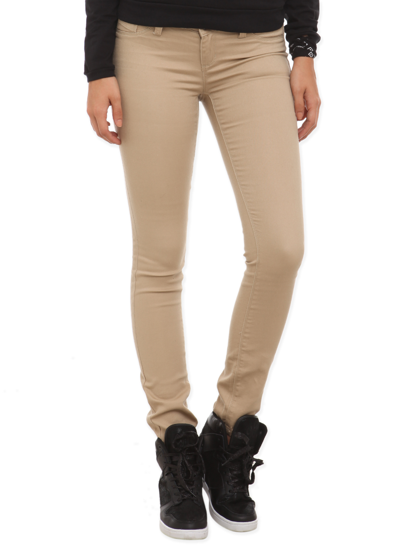 Khaki Pants Styling Ideas. Gap's women's chino pants are versatile and fashion-forward for a wide array of cool and effortlessly chic outfits. Pair loose and flirty skimmer khakis with a light tee shirt and sneakers for a laid-back, outdoor look.