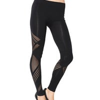 Diamond Laser Cut Legging | Shop Bottoms at Arden B