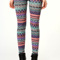 Ava Aztec Print Leggings