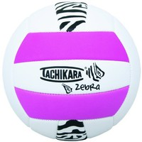 Tachikara Sof-Tec Zebra Pink/White Indoor/Outdoor Foam Backed Panel Volleyball
