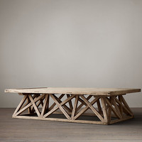 Timber Trestle Door Table