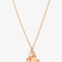 Flower Trio Necklace | FOREVER 21 - 1019571351
