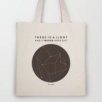 There Is A Light Tote Bag by Nan Lawson