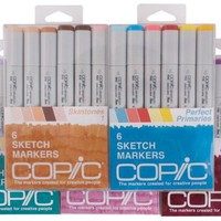 Copic Sketch Set of 6 Markers - Skin Tones 1