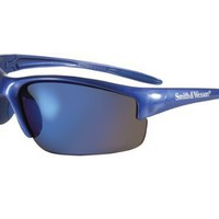 SMITH  WESSON EQUALIZER SUNGLASSES - BLUE WITH BLUE MIRROR LENS
