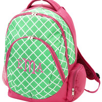 Personalized Green Academy Backpack by Cordial Lee