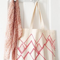 Red Mountains Tote | BRIKA - A Well-Crafted Life