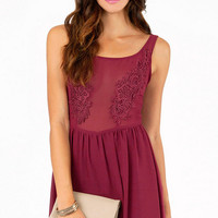 Shayna Sheer Babydoll Dress $35