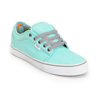 Vans Chukka Low Wash Hawaiian Mint Skate Shoe at Zumiez : PDP