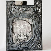 Decoupage Paper Clipboard / Folder  Custom Made to by BeauMiracle