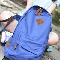 Fashion Cream Eephant's Trunk Canvas Backpack from styleonline