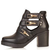 AUBREY Open Side Chunky Boots - View All  - Shoes