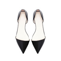 POINTED FLAT SHOE - Flats - Shoes - Woman | ZARA United States