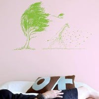 Wild Wild Wind wall decal from Threadless by Blik