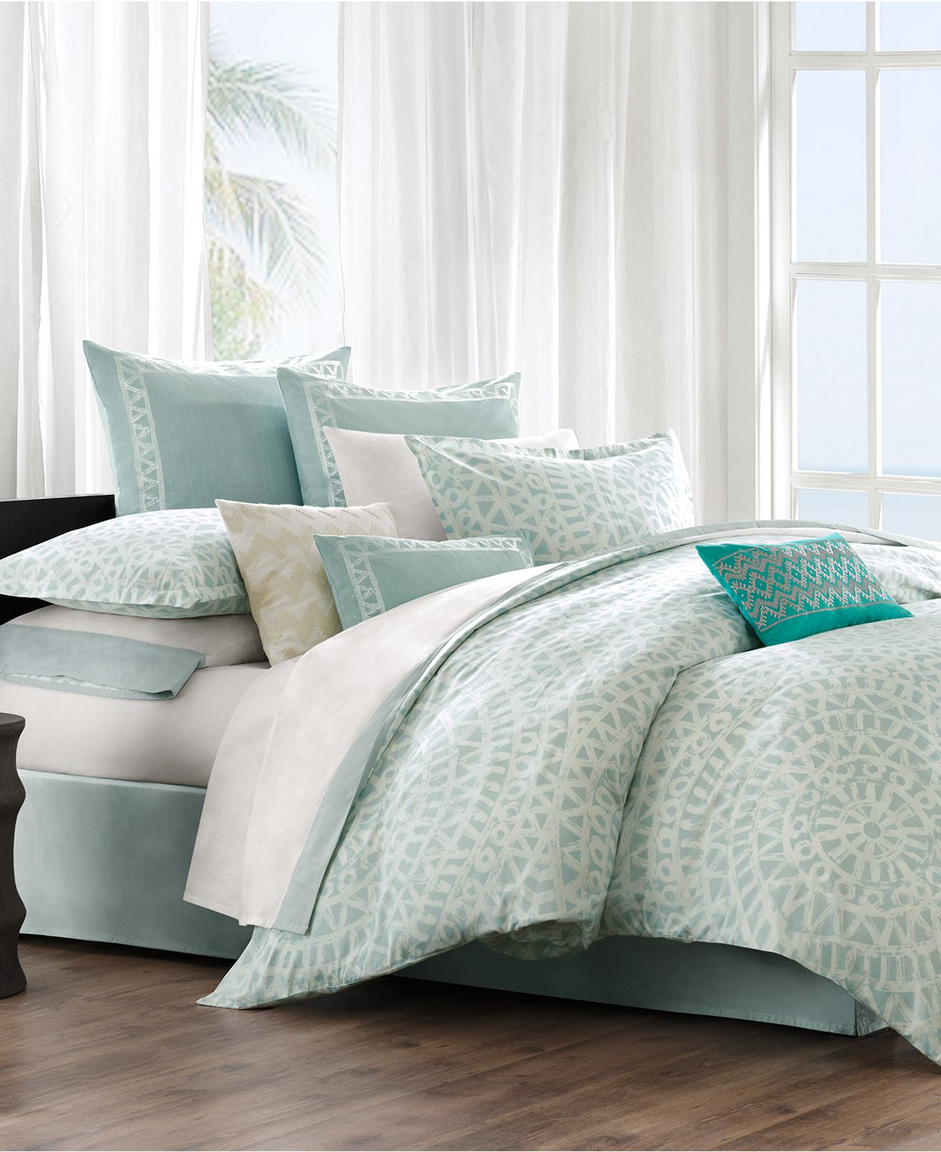 Echo Bedding Mykonos Comforter And Duvet From Macys