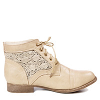 Papaya Clothing Online :: LACE UP ANKLE BOOTIES