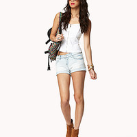 Distressed Denim Shorts | FOREVER 21 - 2039855223