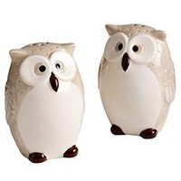 Product Details - Owl Salt & Pepper Shakers