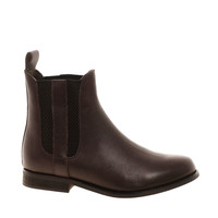 ASOS | ASOS AUTHOR Leather Chelsea Ankle Boots at ASOS