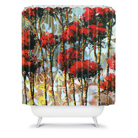 DENY Designs Home Accessories | Madart Inc. Whispering Trees Shower Curtain