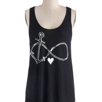 Falling Infinite Love Top | Mod Retro Vintage T-Shirts | ModCloth.com