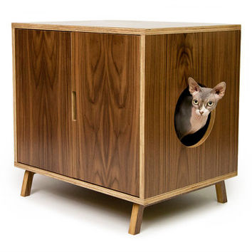 mid century modern pet furniture cat from modernist cat